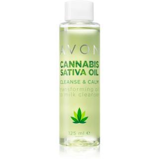 Avon Cannabis Sativa Oil čisticí pleťová emulze s konopným olejem 125 ml dámské 125 ml