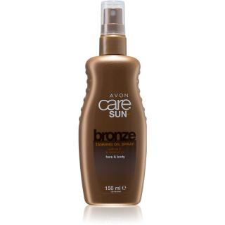 Avon Care Sun   Bronze olej na opalování ve spreji na tělo a obličej 150 ml dámské 150 ml