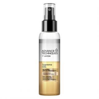 Avon Intenzivní vyživující duální sprej s luxusními oleji pro všechny typy vlasů Advanced Techniques Supreme Oils  100 ml dámské