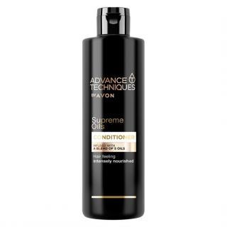 Avon Intenzivní vyživující kondicionér s luxusními oleji pro všechny typy vlasů Advanced Techniques Supreme Oils  250 ml dámské
