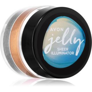 Avon Jelly rozjasňovač na obličej a tělo odstín Bronze Glow 10 g dámské 10 g