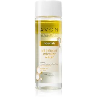 Avon Nutra Effects Nourish dvoufázová micelární voda pro normální až suchou pleť 200 ml dámské 200 ml