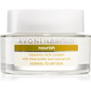 Avon Nutra Effects Nourish vyživující krém s bambuckým máslem 50 ml dámské 50 ml