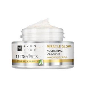 Avon Rozjasňující krém s vyživujícími oleji True NutraEffects  50 ml dámské