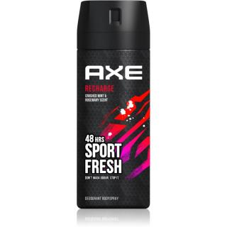Axe Sport Refresh Crushed Mint & Rosemary deodorant a tělový sprej 48h 150 ml pánské 150 ml