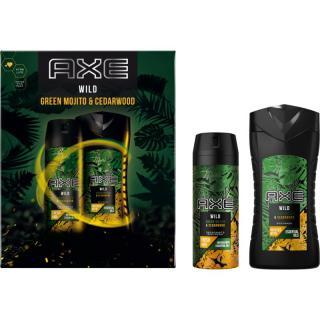 Axe Wild Green Mojito & Cedarwood dárková sada pánské