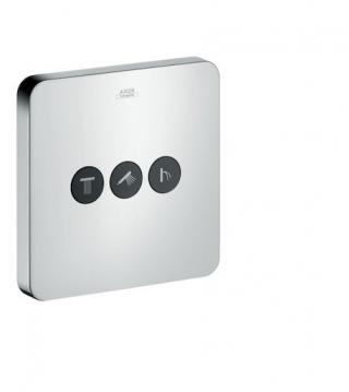 Axor ShowerSelect Uzavírací a přepínací ventil pro 3 spotřebiče, chrom