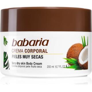Babaria Coconut bohatý hydratační krém pro velmi suchou pokožku 200 ml dámské 200 ml