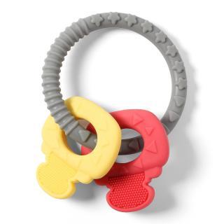 BABY ONO Kousátko silikonové Ortho kroužky 0 m  mix barev