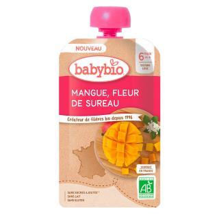 BABYBIO Mango bezový květ 120 g růžová