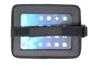 BABYDAN Držák tabletu a baby zrcadlo do auta, Lux Grey černá