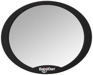 BABYDAN Nastavitelné zpětné zrcadlo do auta černá