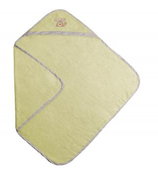 BABYMATEX Osuška froté BAMBOO 100x100 cm - Zelená