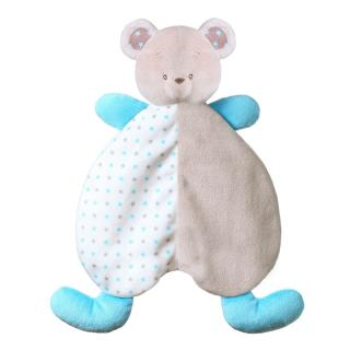 BABYONO Hračka mazlíček Medvídek Tony modrá