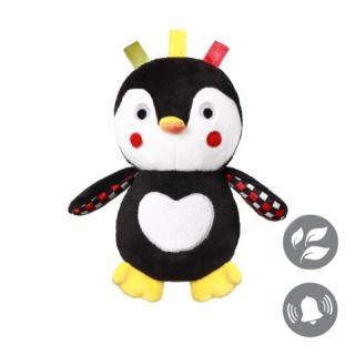 BABYONO Hračka plyšová C-MORE tučňák Connor 17 x 24 cm mix barev