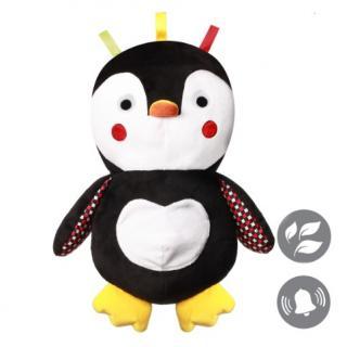 BABYONO Hračka plyšová C-MORE tučňák Connor 30 x 45 cm mix barev