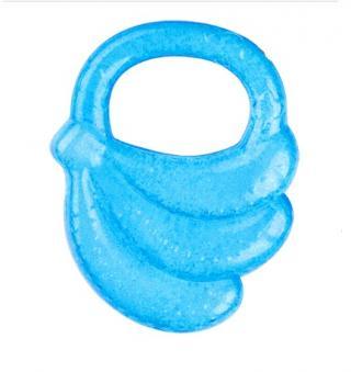 BABYONO Kousátko chladící banán – modré modrá