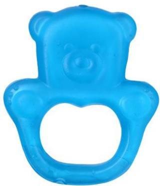 BABYONO Kousátko chladící medvěd - modrá