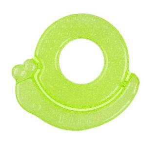 BABYONO Kousátko chladící šnek – zelené zelená