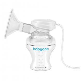 BABYONO Odsávačka elektrická Natural Nursing bílá
