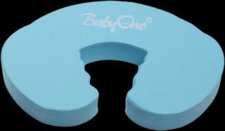 BABYONO Zábrana dveří modrá