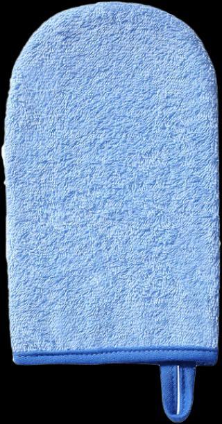 BABYONO Žínka na mytí froté – modrá