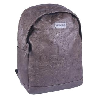 BACKPACK CASUAL TRAVEL FAUX-LEATHER THE MANDALORIAN Other One size
