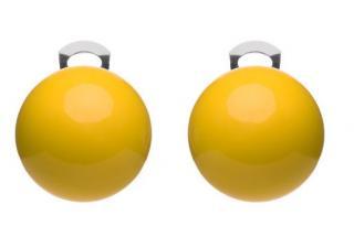 #ballsmania Originální náušnice O154 14-0852 Giallo Fresia dámské