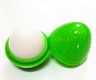Balzám ve tvaru jahody Barva: zelená