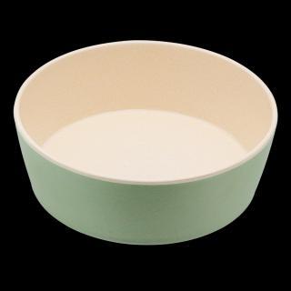 Bambusová miska BecoBowl, modrozelená S