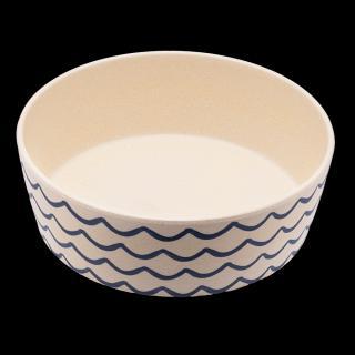 Bambusová miska BecoBowl, vlny S