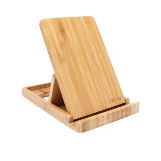 Bambusový stojánek na mobil a tablet