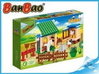 BanBao stavebnice Eco Farm zahrádka se zvířátky 115ks   1 figurka ToBees