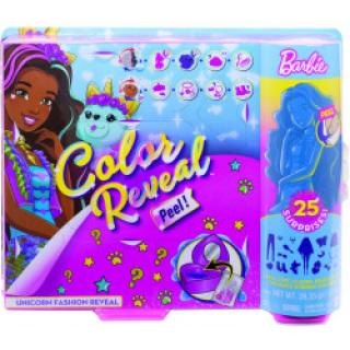 Barbie Color Reveal fantasy jednorožec