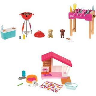 Barbie Mini Herní set s mazlíčkem