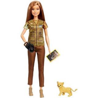 Barbie Povolání National Geographic se lvíčkem