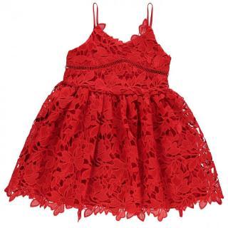 Bardot Lace Strap Dress dámské Other 4-5 Y