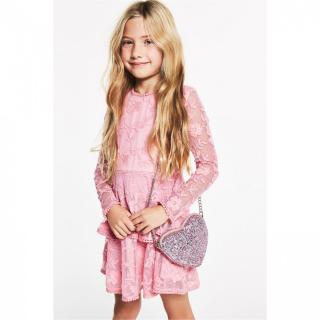Bardot Long Sleeve Ember Lace Dress dámské Other 9-10 Y