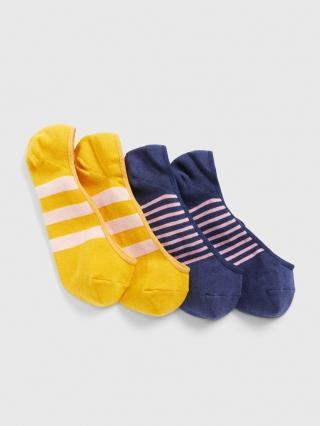 Barevné dámské ponožky GAP 2-Pack dámské tmavě modrá ONE SIZE