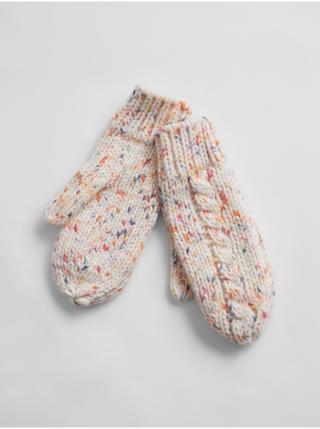 Barevné dámské rukavice GAP dámské krémová ONE SIZE