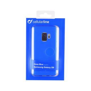 Barevné gelové pouzdro CELLULARLINE COLOR pro Samsung Galaxy S9, modrá