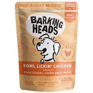 Barking Heads Bowl Lickin' Chicken kapsička 300 g
