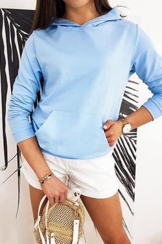 BASIC EVER womens sweatshirt blue BY0385 dámské Neurčeno One size