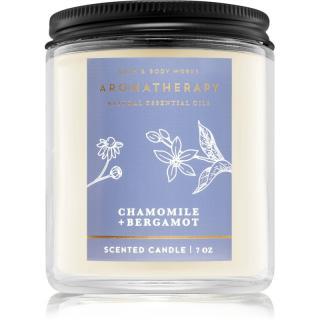 Bath & Body Works Aromatherapy Chamomile & Bergamot vonná svíčka 198 g 198 g