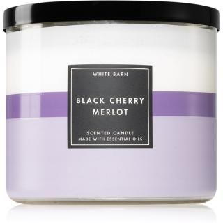 Bath & Body Works Black Cherry Merlot vonná svíčka II. 411 g 411 g