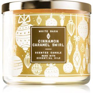 Bath & Body Works Cinnamon Caramel Swirl vonná svíčka 411 g 411 g