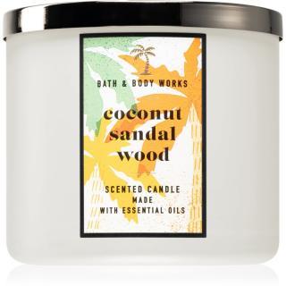 Bath & Body Works Coconut Sandalwood vonná svíčka 411 g 411 g