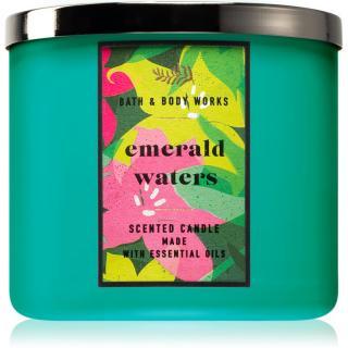 Bath & Body Works Emerald Waters vonná svíčka 411 g 411 g