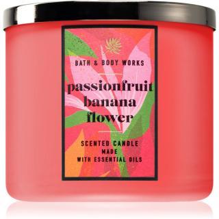 Bath & Body Works Passionfruit & Banana Flower vonná svíčka 411 g 411 g