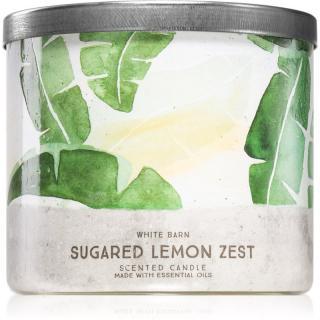 Bath & Body Works Sugared Lemon Zest vonná svíčka 411 g 411 g